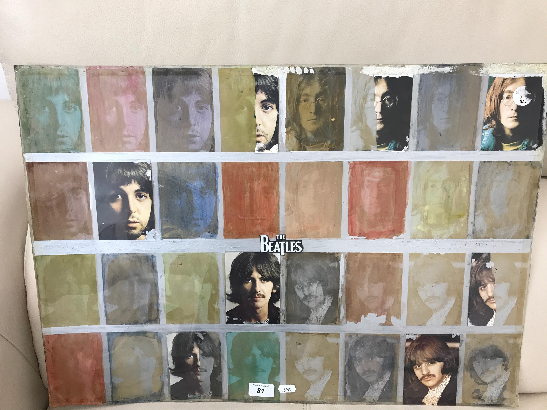 Original Beatles artwork cover