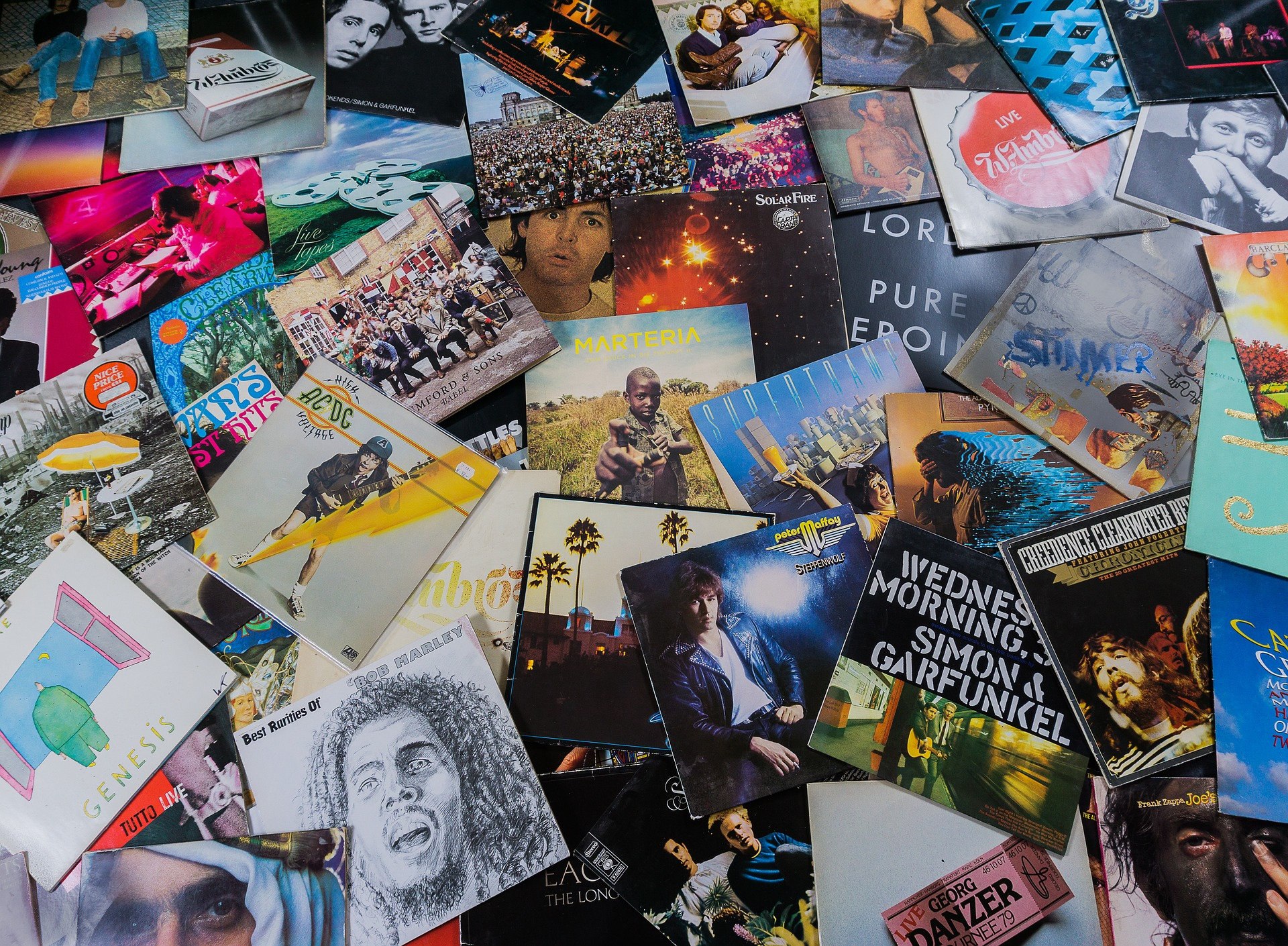 vinyl records for auction