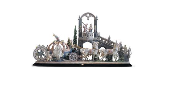Lladró Cinderella's Arrival - Featonbys Auctioneer