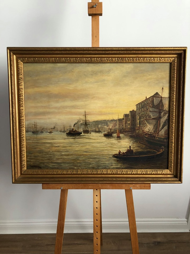 BB Hemy – One Of His Finest Paintings Up For Auction