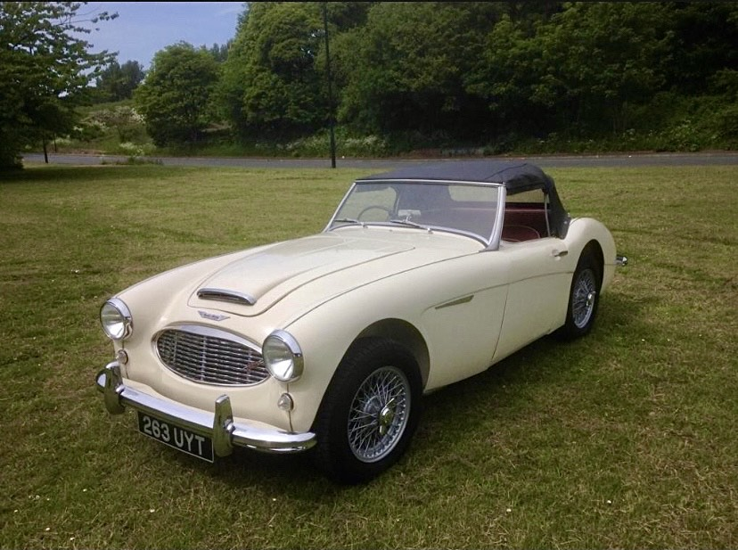 Pristine condition Austin Healey up for auction at Featonby's
